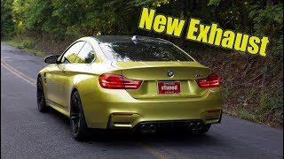 Installing an ARMYTRIX Exhaust on my Rebuilt BMW M4