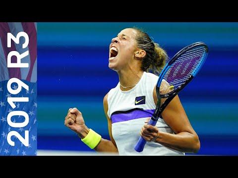 Sofia Kenin Vs Madison Keys Full Match   US Open 2019 Round 3