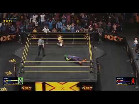 WWE 2K19 Goku Vs Piccolo |