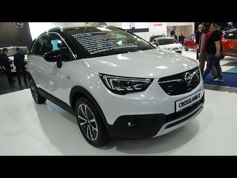2018 Opel Crossland X Exterior and Interior Auto Salon Bratislava 2017