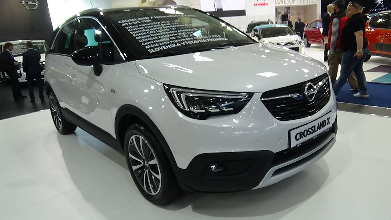 2018 opel crossland x exterior and interior auto salon bratislava 2017 youtube. Black Bedroom Furniture Sets. Home Design Ideas