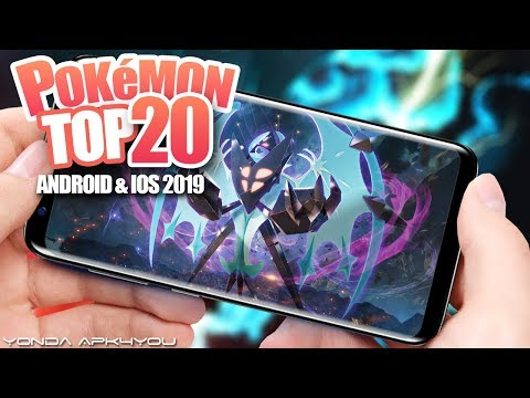 Top 20 New Pokemon Games 2019 - Android IOS Gameplay