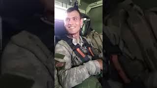 Barış Pınarı harekatına giden askerlerin araç içindeki görüntüleri ve sözleri