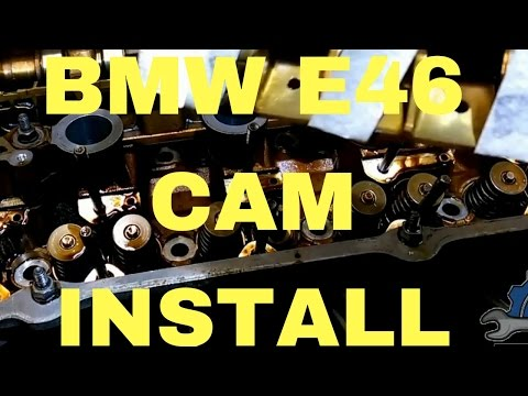 Camshaft installation without special tool BMW e46