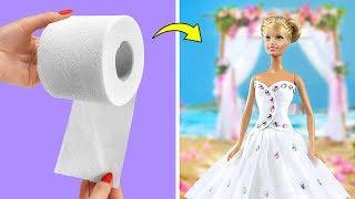 Лайфхаки для куклы Барби