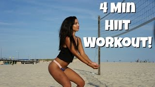 4 Min Hiit Workout!