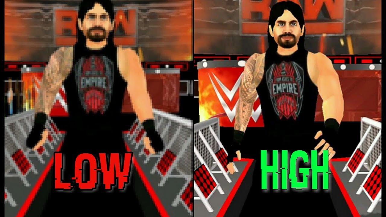 WRESTLING REVOLUTION 3D WWE 2K18 MOD APK DOWNLOAD FOR