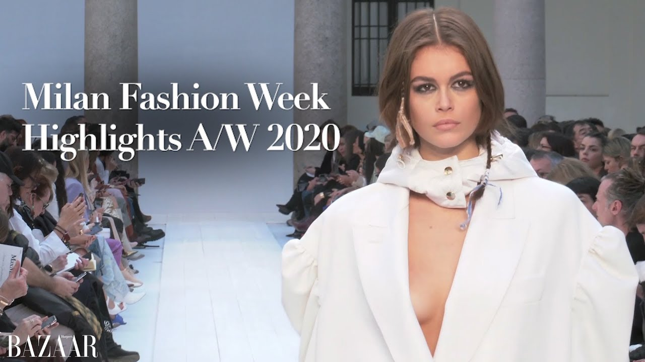 The best of Milan Fashion Week autumn/winter 2020 - YouTube