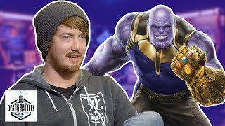 Thanos Gets The Infinity Gauntlet? | DEATH BATTLE Cast