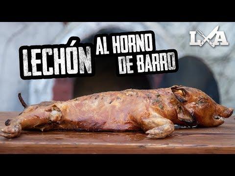 FANTASTICO LECHON AL HORNO DE BARRO | Receta de Locos X el Asado