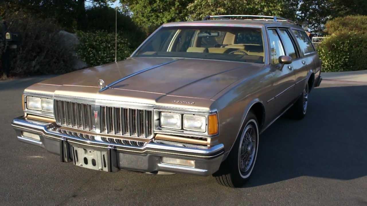 87 Pontiac Safari Station Wagon 1 Owner Oldsmobile Chevy