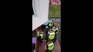 Glasgow Burglary caught by Police