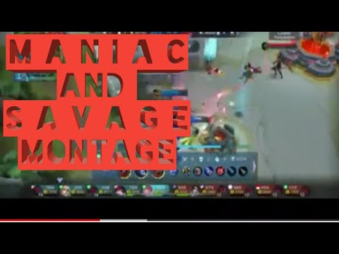 Maniac And Savage Montage | Karrie_lance | Mobile Legend Bang Bang |