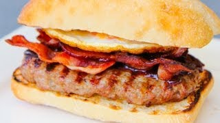 Sausage, Bacon and Egg BBQ Breakfast Roll - Recipe Video