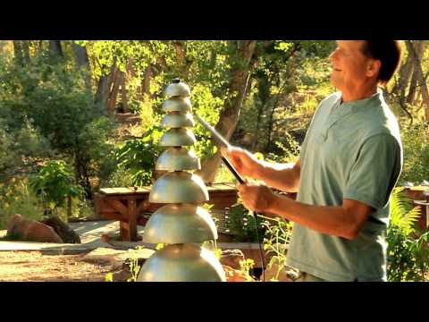 Pagoda Bells - Outdoor Musical Instruments by Freenotes Harmony Park Inc.