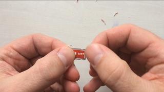 Как обрезать SIM-Карту для iPhone