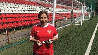 Марина Федункив уходит в российскую сборную по футболу!