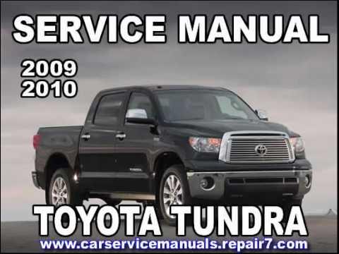 toyota tundra 2009 2010 service manual car service youtube rh youtube com 2010 toyota tundra service manual pdf toyota tundra 2010 owners manual