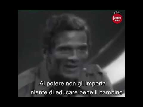 Pier Paolo Pasolini sulla famiglia, i figli e l'emancipazione della donna
