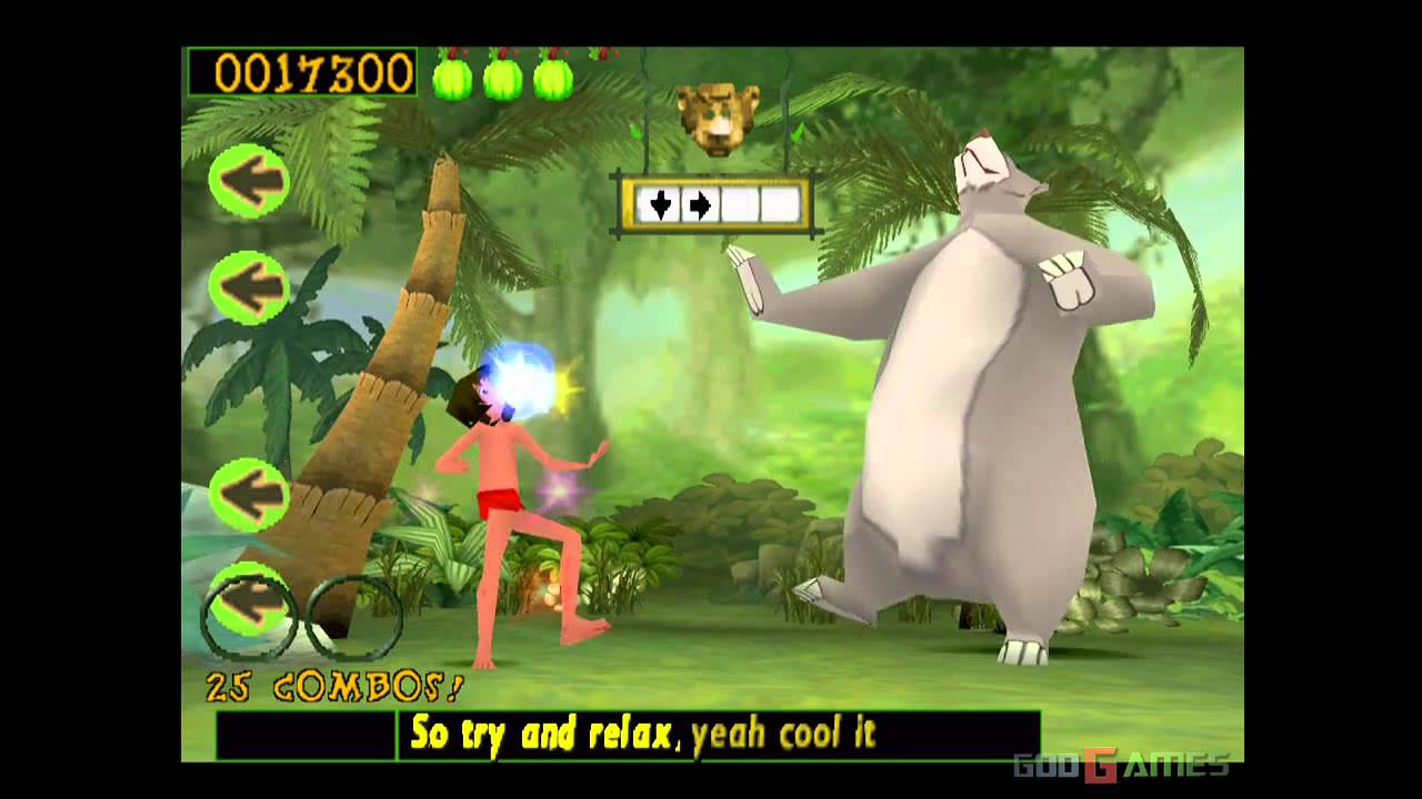 Walt Disney's The Jungle Book: Rhythm N'Groove - Gameplay PSX / PS1 / PS  One / HD 720P (Epsxe) by John GodGames