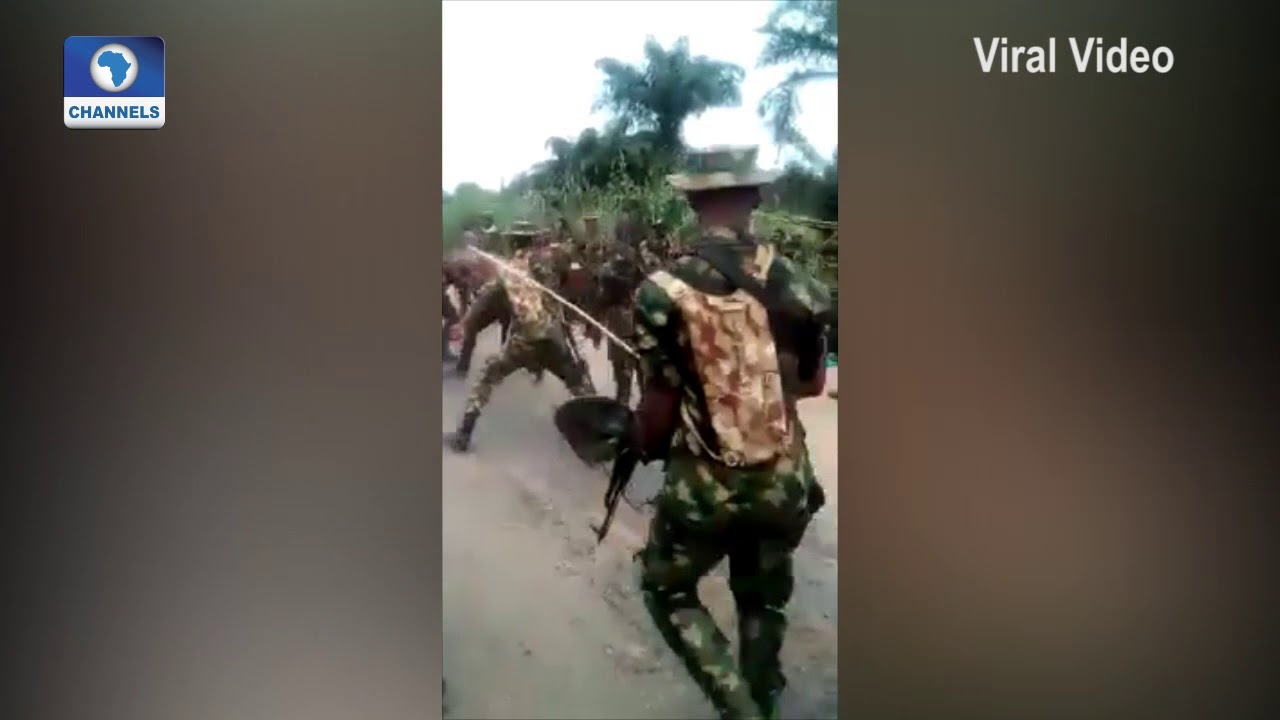 Download Unverified Video Of Army Allegedly Brutalising IPOB Members