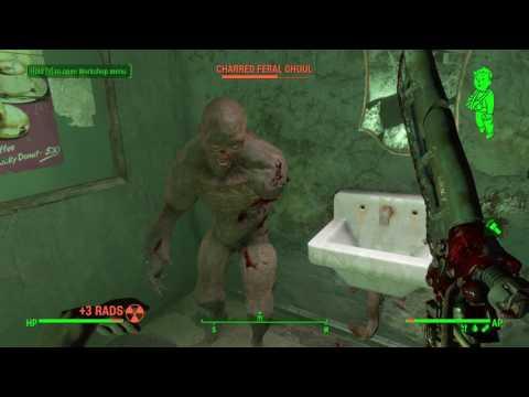 Fallout 4 Vault-Tec Workshop DLC - Exit and Vault Door |
