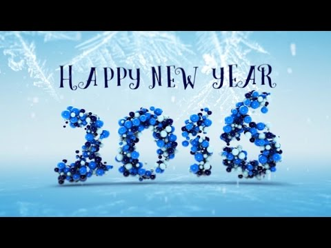 happy new year after effects template youtube
