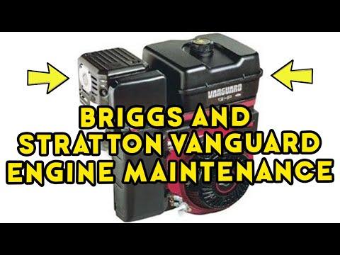 Preventative Maintenance of the Briggs and Stratton Vanguard Engine