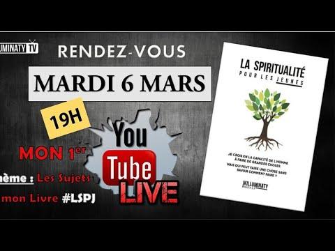 Mon 1er LIVE YouTube