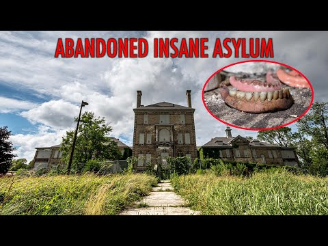 Exploring A Notorious Abandoned Insane Asylum - Terrible Medical Experiments