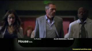 "House md 6x17 ""Lockdown"" Promo"