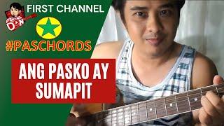 Baixar Chords: Ang Pasko Ay Sumapit guitar tutorial - PasCHORDS tutorials ng Kantang Pamasko