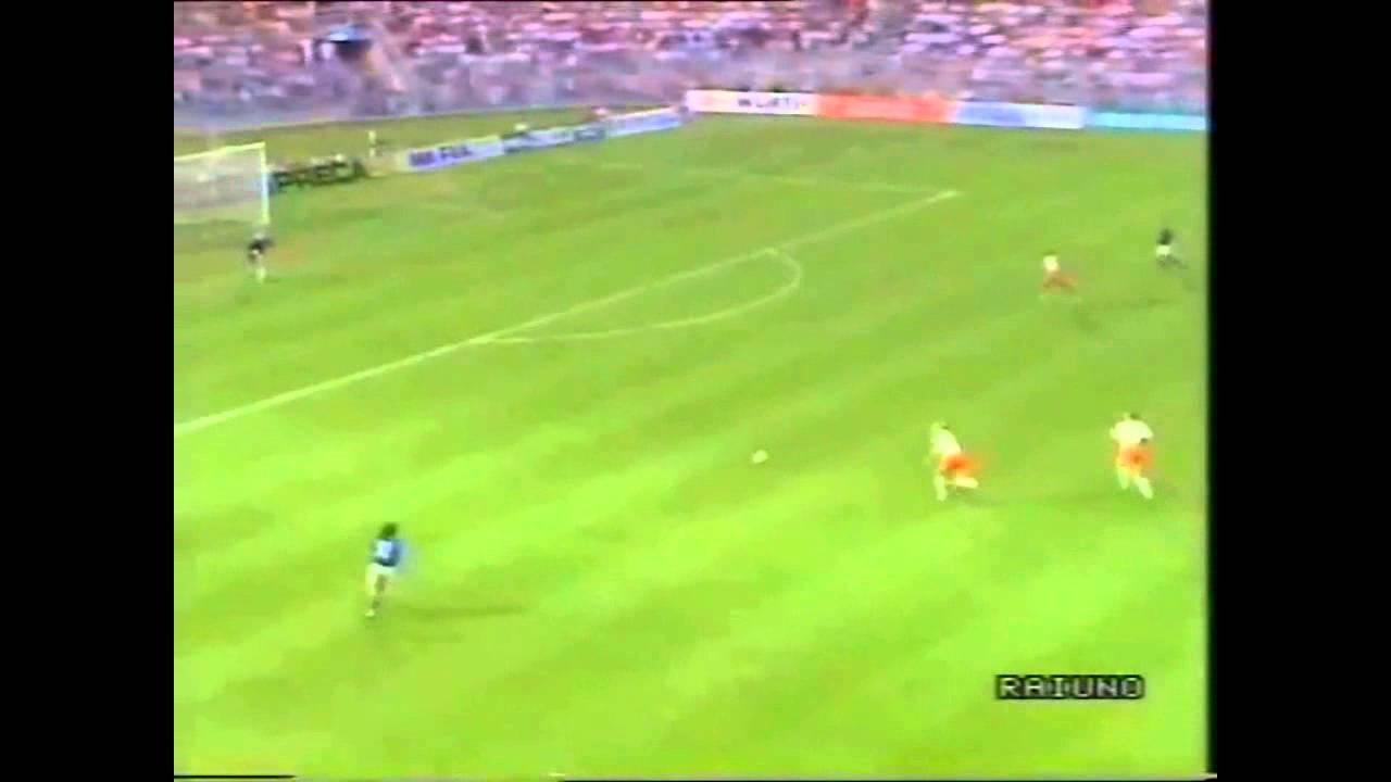 Roberto Baggio Goal Italy-Holland 1990