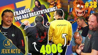 Les vestes Cyberpunk à 400€, Marcus et sa journée Star Wars à 650$, un E3 décevant ? - JEUXACTU #38