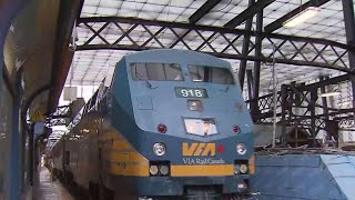 Via Rail Trains Stopped Due To Pipeline Protests
