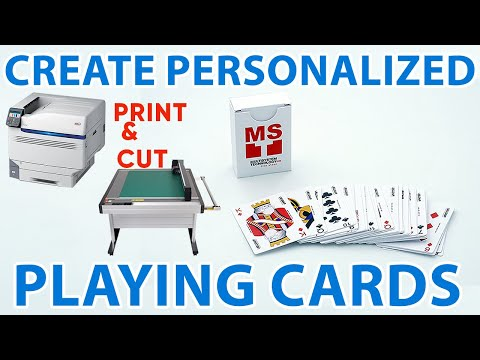 Customized Playing Cards (Print & Cut Solution by Labelgraff)