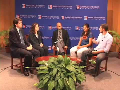 Interfaith dialog with students at American University