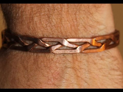 comment faire un bracelet en cuivre make a copper bracelet youtube. Black Bedroom Furniture Sets. Home Design Ideas