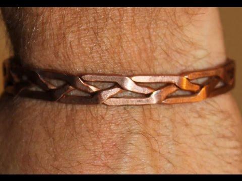 comment faire un bracelet en cuivre make a copper. Black Bedroom Furniture Sets. Home Design Ideas