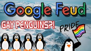 Penguins are WHAT?! | Google Feud funny moments