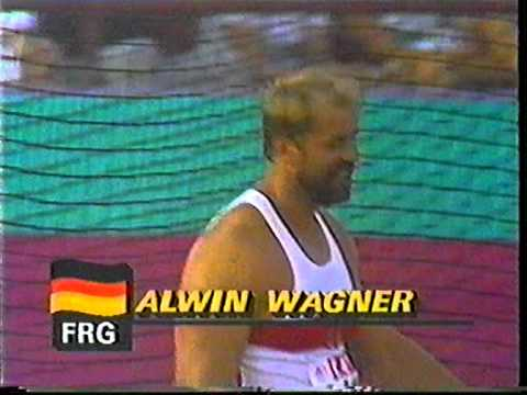 Alwin Wagner Discus 64 72m Olympics84