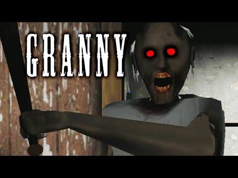 Granny ЧОКНУТАЯ БАБКА ХОЧЕТ СЪЕСТЬ МОИ МОЗГИ Хоррор игра Побег из Дома жуткой Бабули Гренни