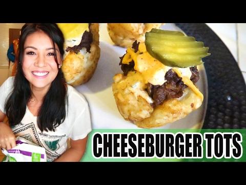 CHEESEBURGER TOTS! (vegan or nah) - #TastyTuesday