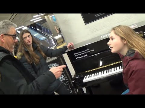 Teenage Girls Learn A New Genre of Piano