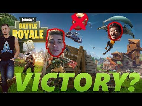 FINALLY WINNING? FORNITE W/ THE MUTSKATEERS! Fortnite Battle Royale