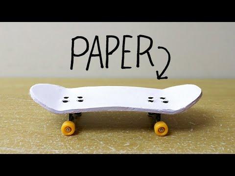 D.I.Y PAPER FINGERBOARD!