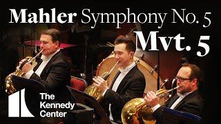Mahler - Symphony No. 5, Mvt 5 | National Symphony Orchestra (excerpt)