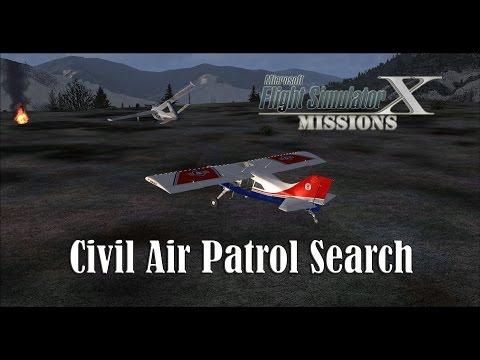 FSX/Flight Simulator X Missions: Civil Air Patrol Search