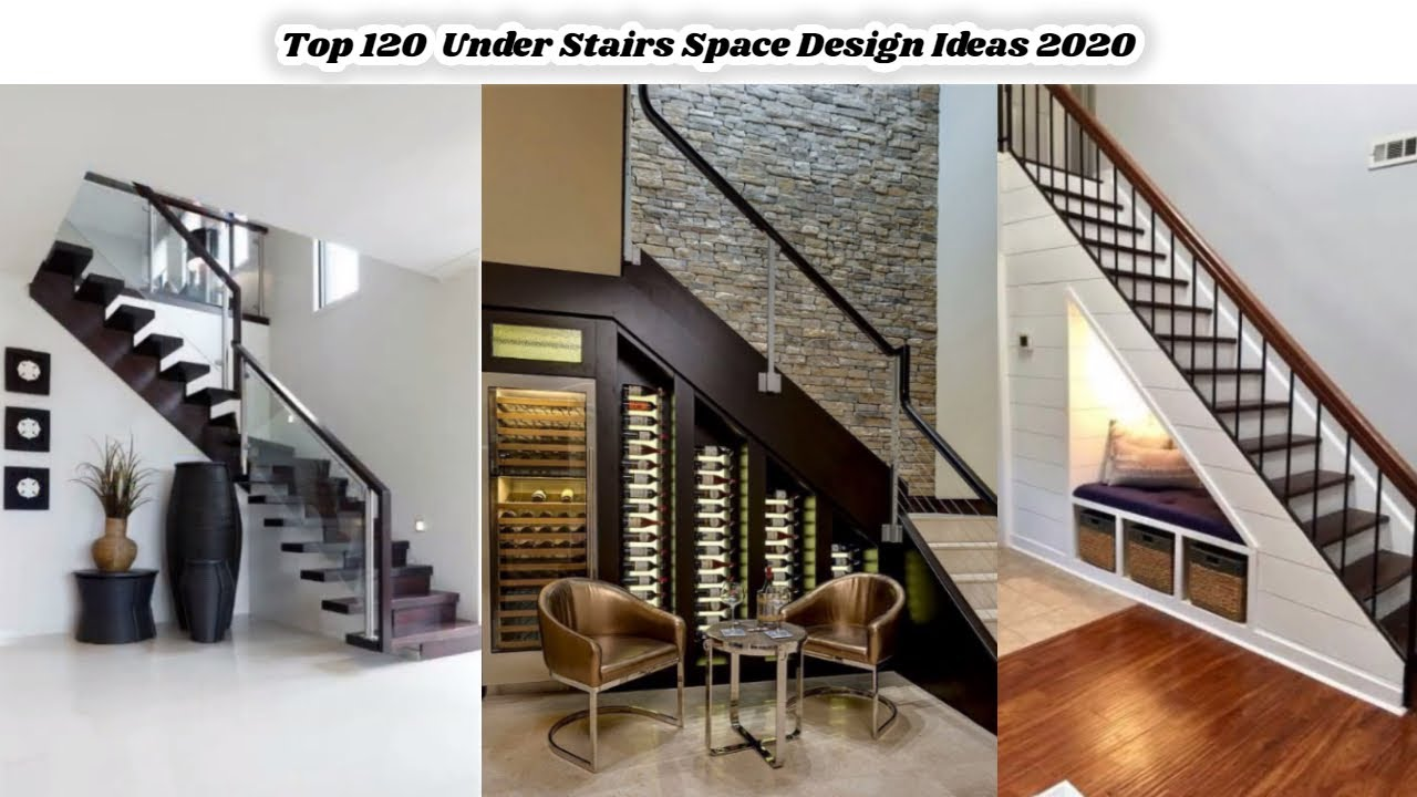 Top 120 Under Stairs Space Design Ideas 2020 Stair Design For Small House Hash Decoration Ideas Youtube