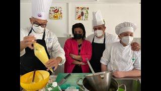 Il riso in cucina e in pasticceria - Lezioni in laboratorio all'Istituto Prealpi